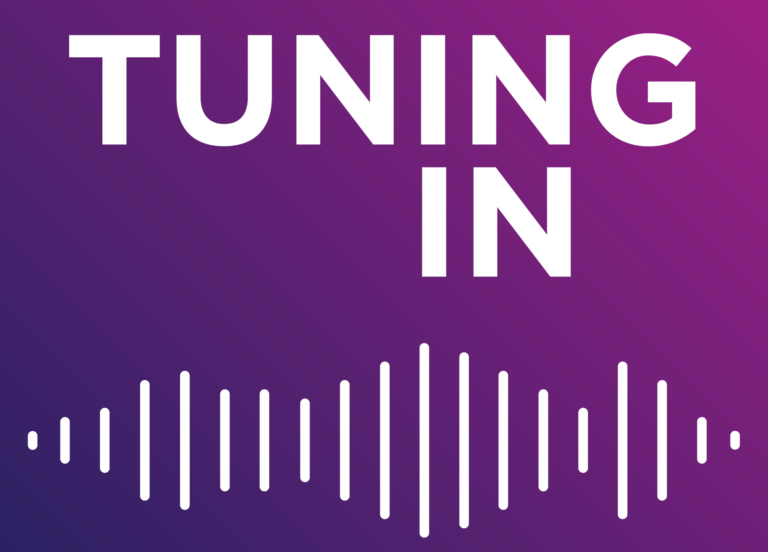 Logo for the Tuning In podcast