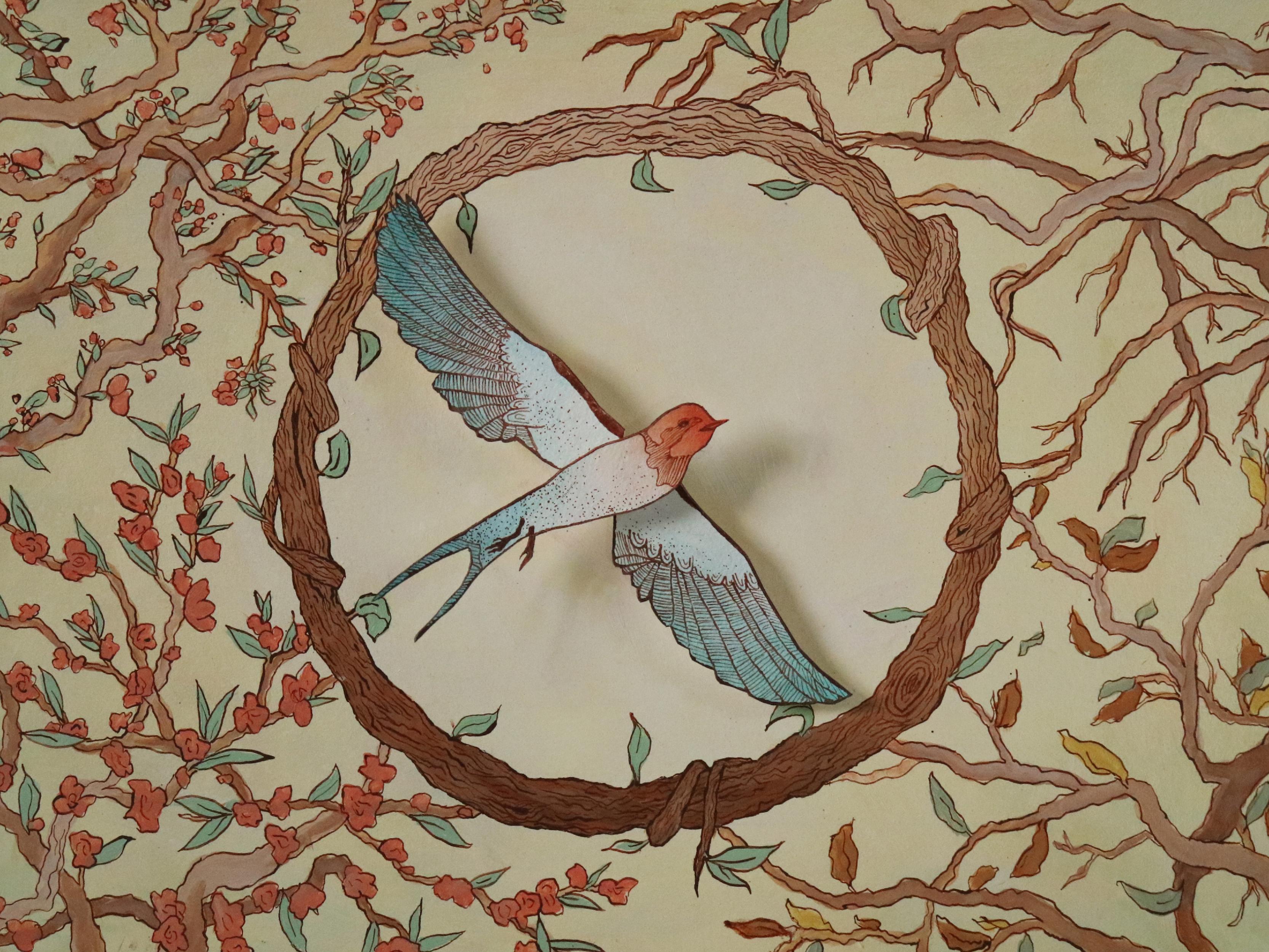 Vivaldi Four Seasons student artwork from MassArt