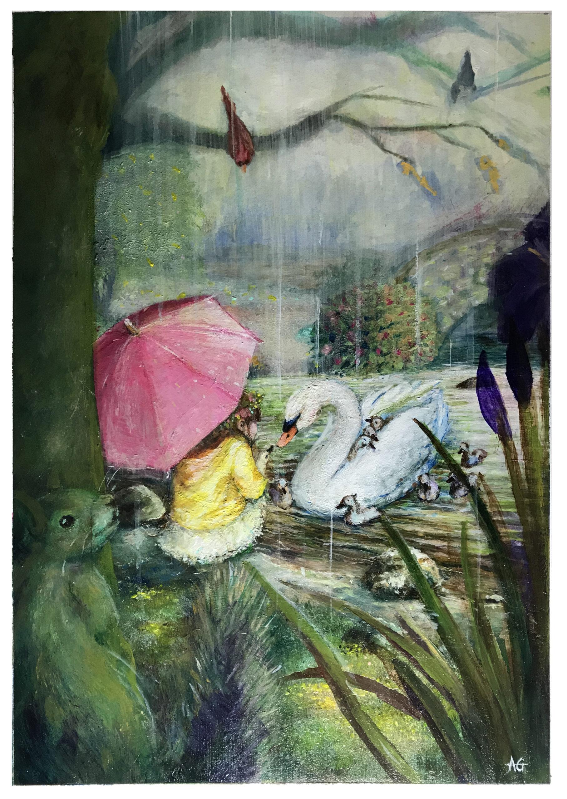 Vivaldi Four Seasons student artwork from MassArt, Amanda Godowski
