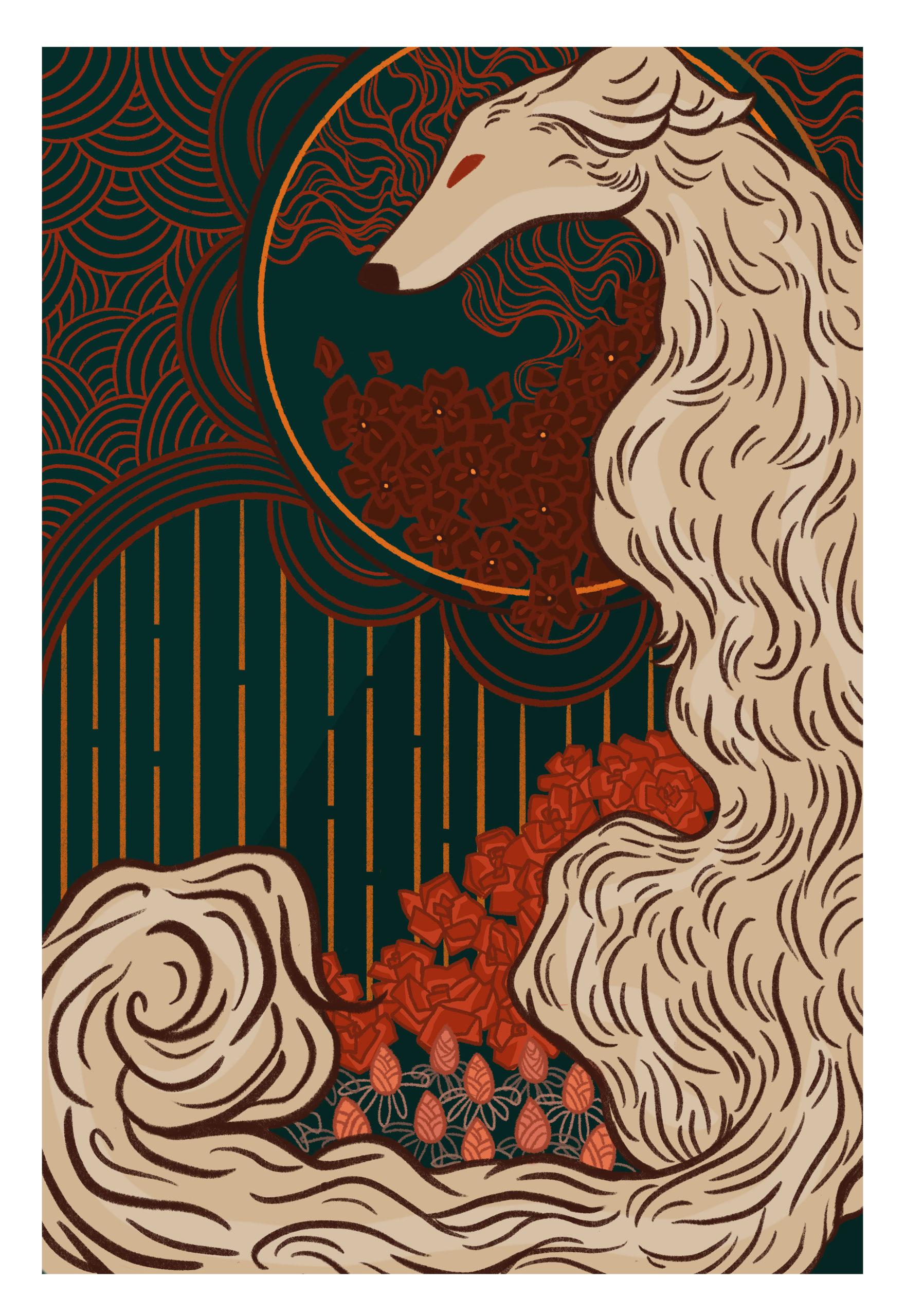 Vivaldi Four Seasons student artwork from MassArt, Cindy Lam