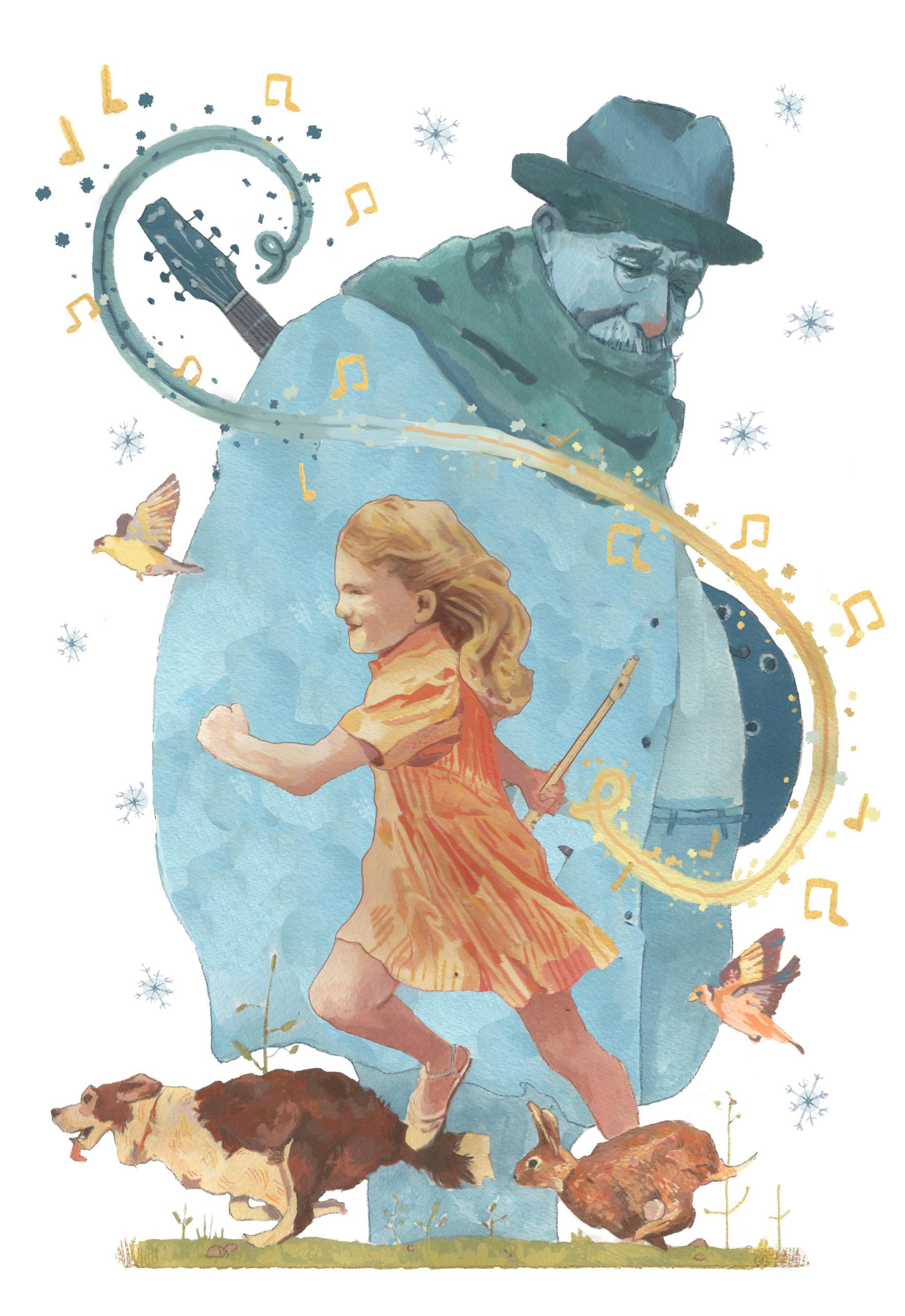 Vivaldi Four Seasons student artwork from MassArt, Sarah Egan
