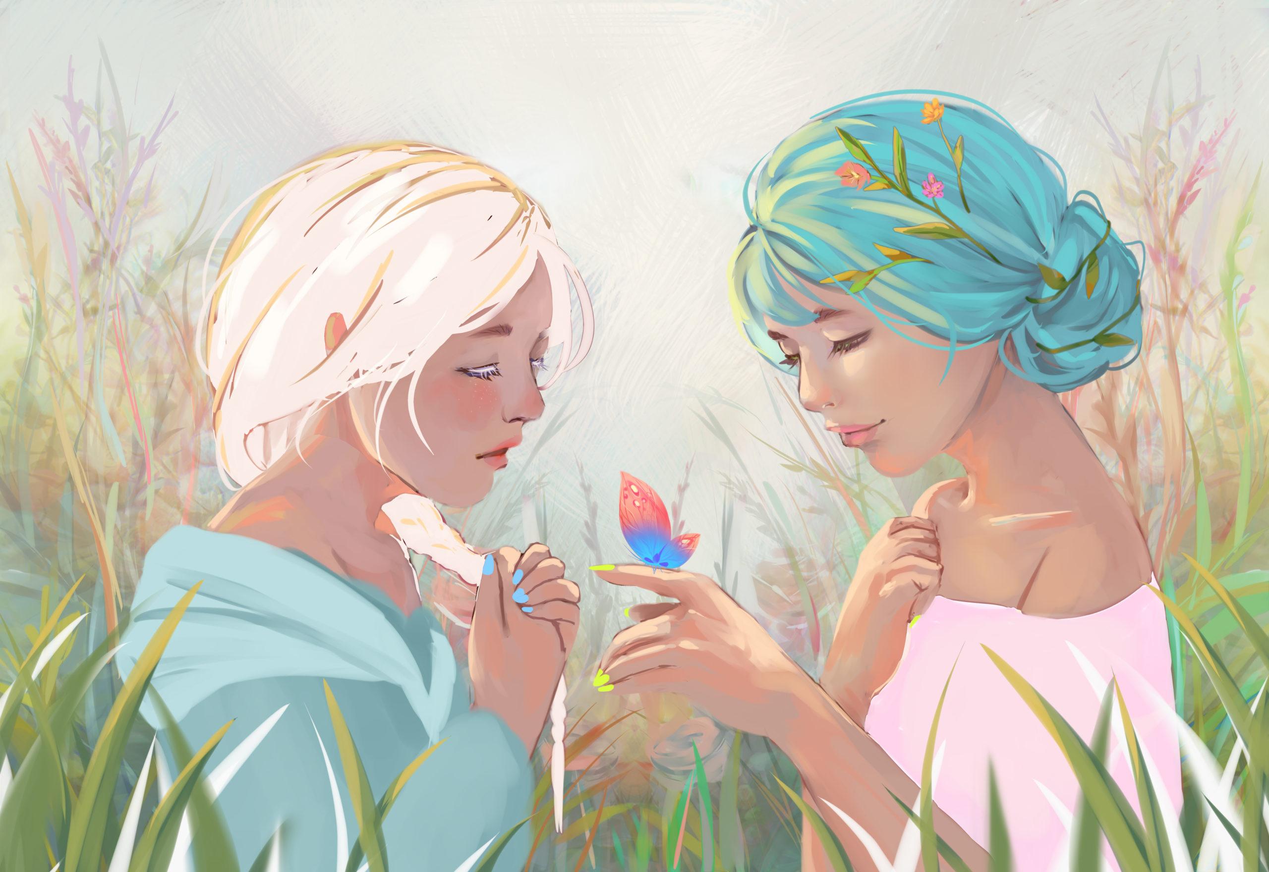 Vivaldi Four Seasons student artwork from MassArt, Sendem Sergelen