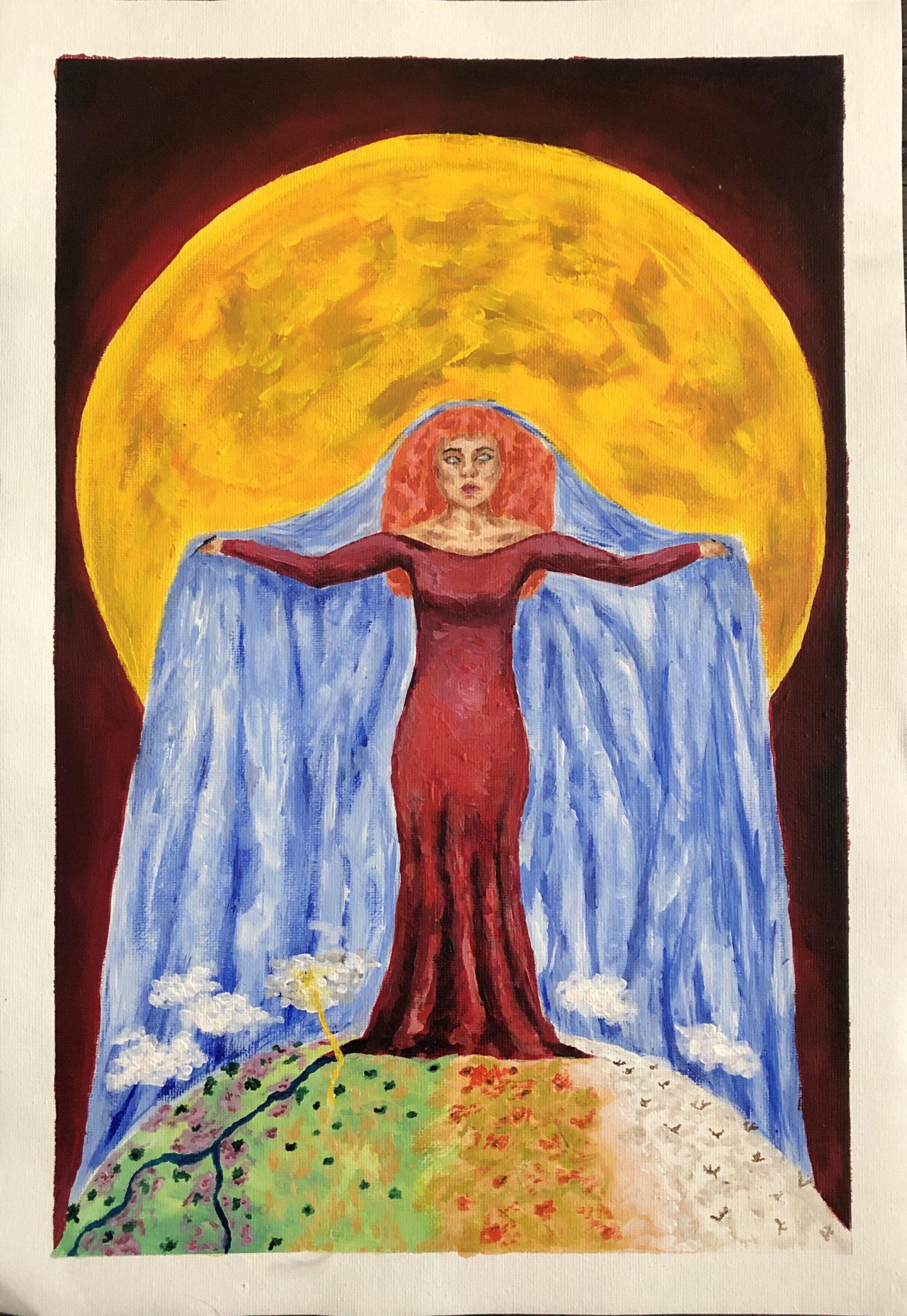 Vivaldi Four Seasons student artwork from MassArt, Allison Cashins