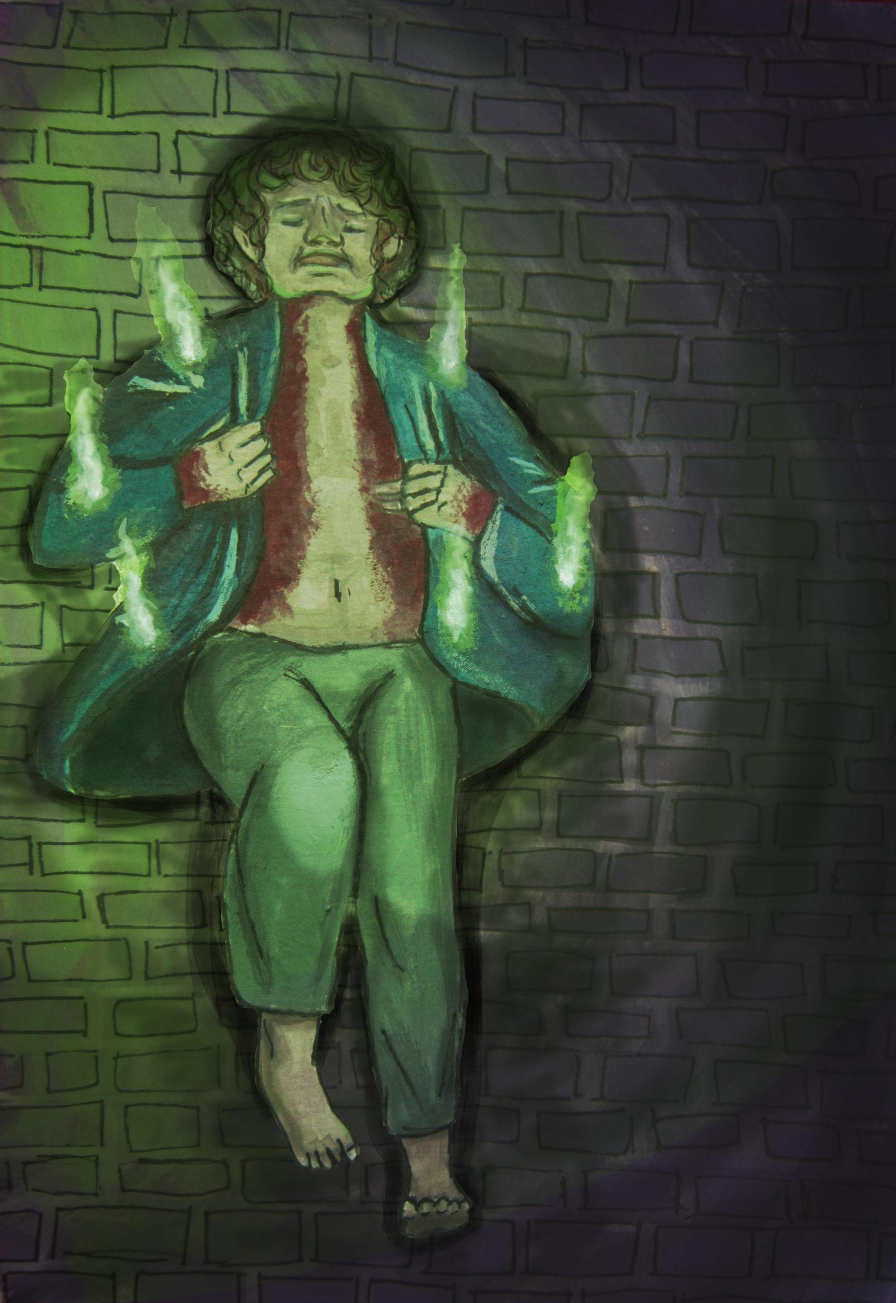 Hercules student artwork from MassArt, Boger