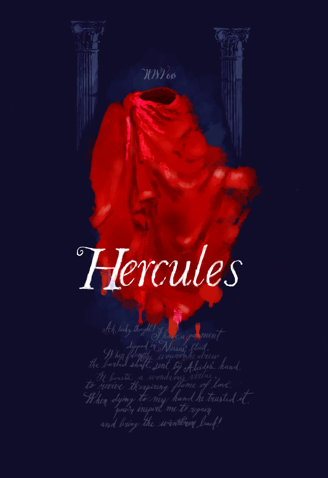 Hercules student artwork from MassArt, Davidson