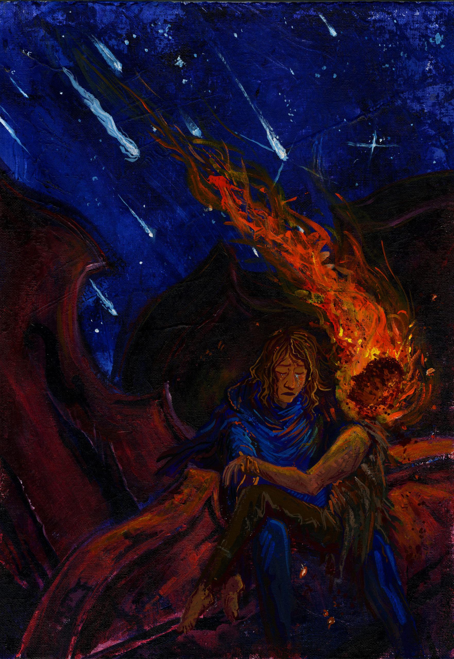 Hercules student artwork from MassArt, Gerstmyer
