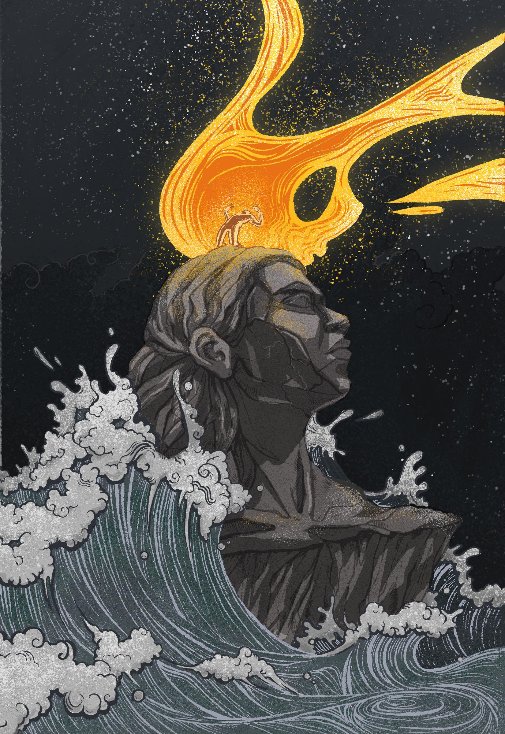 Hercules student artwork from MassArt, Gillette