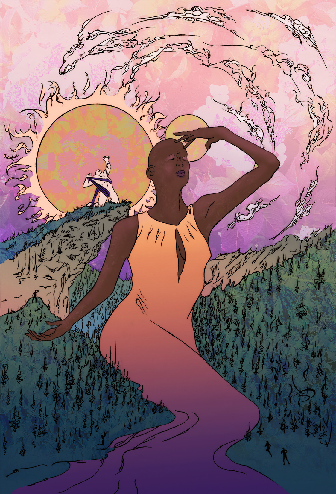 Hercules student artwork from MassArt, St. Paul