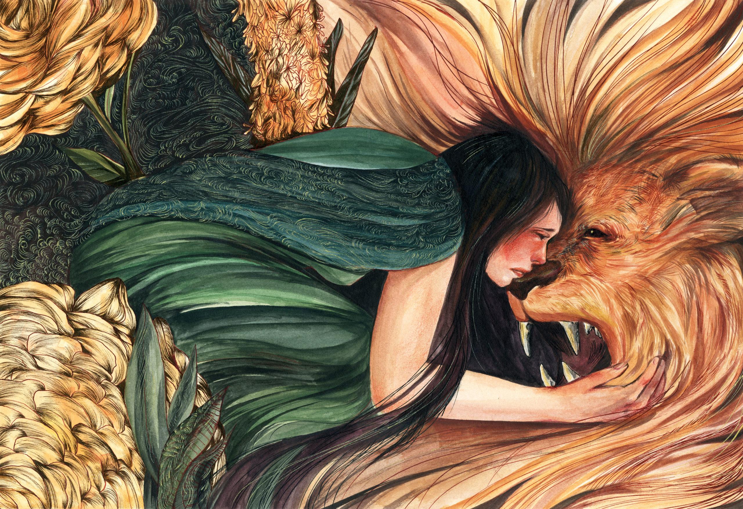 Hercules student artwork from MassArt, Vo