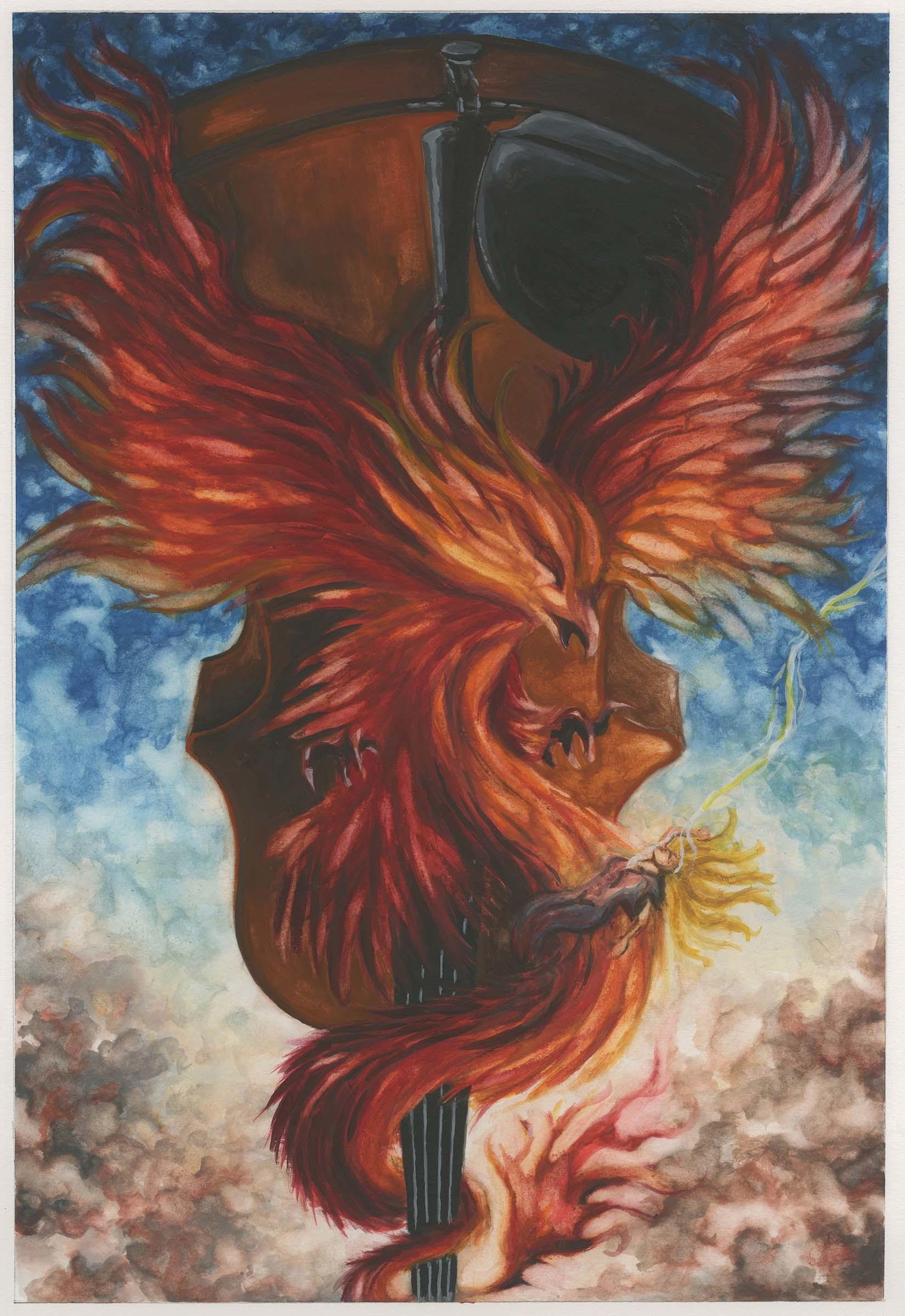 Semele student artwork from MassArt, Jimenez
