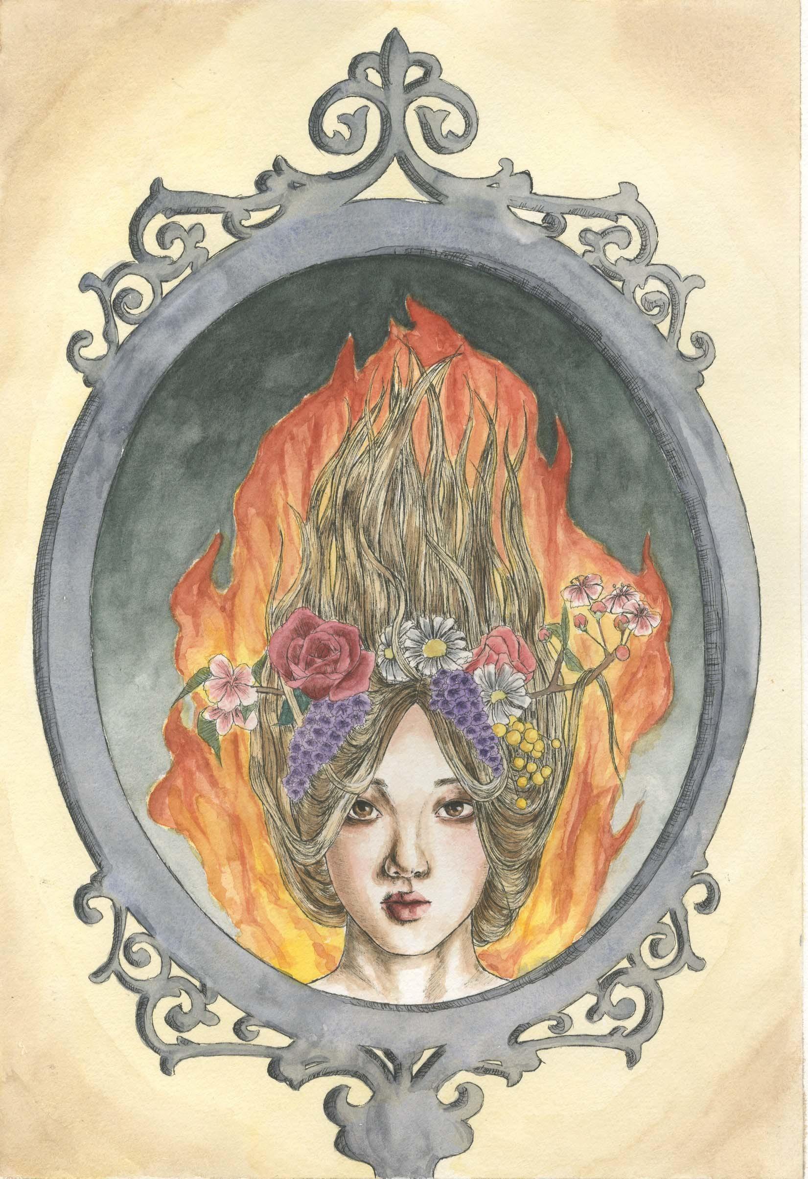 Semele student artwork from MassArt, Kim