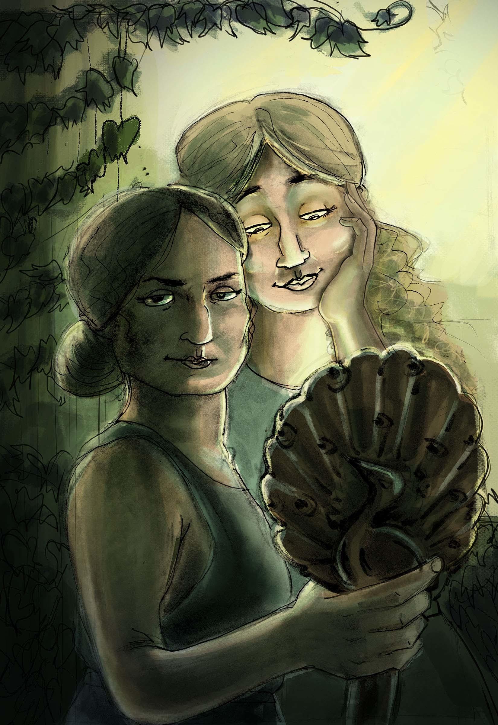 Semele student artwork from MassArt, Shea