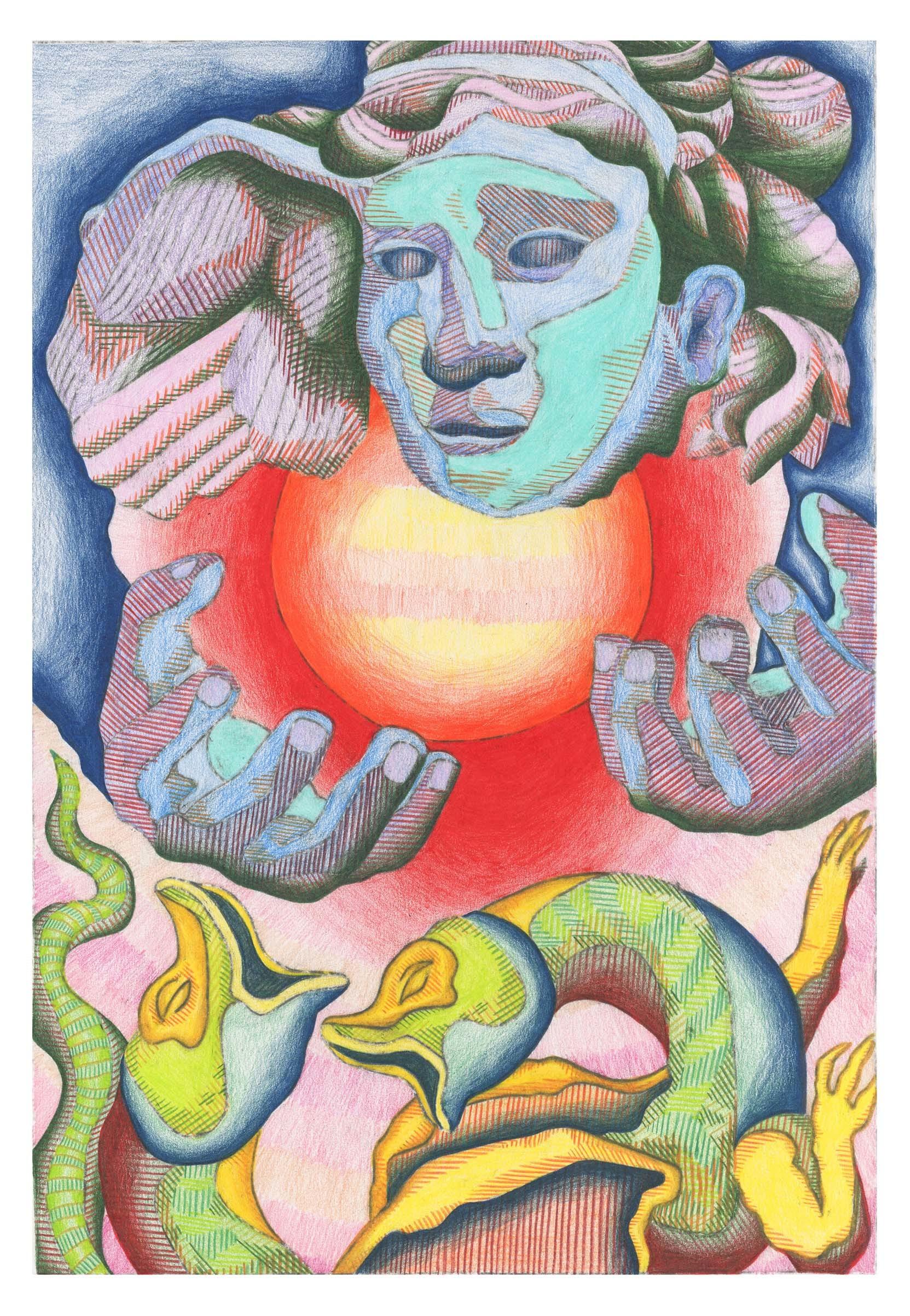 Semele student artwork from MassArt, Weightman