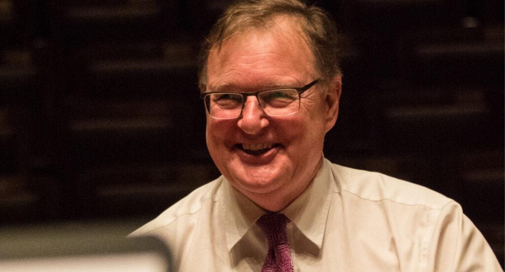 Ian Watson smiling