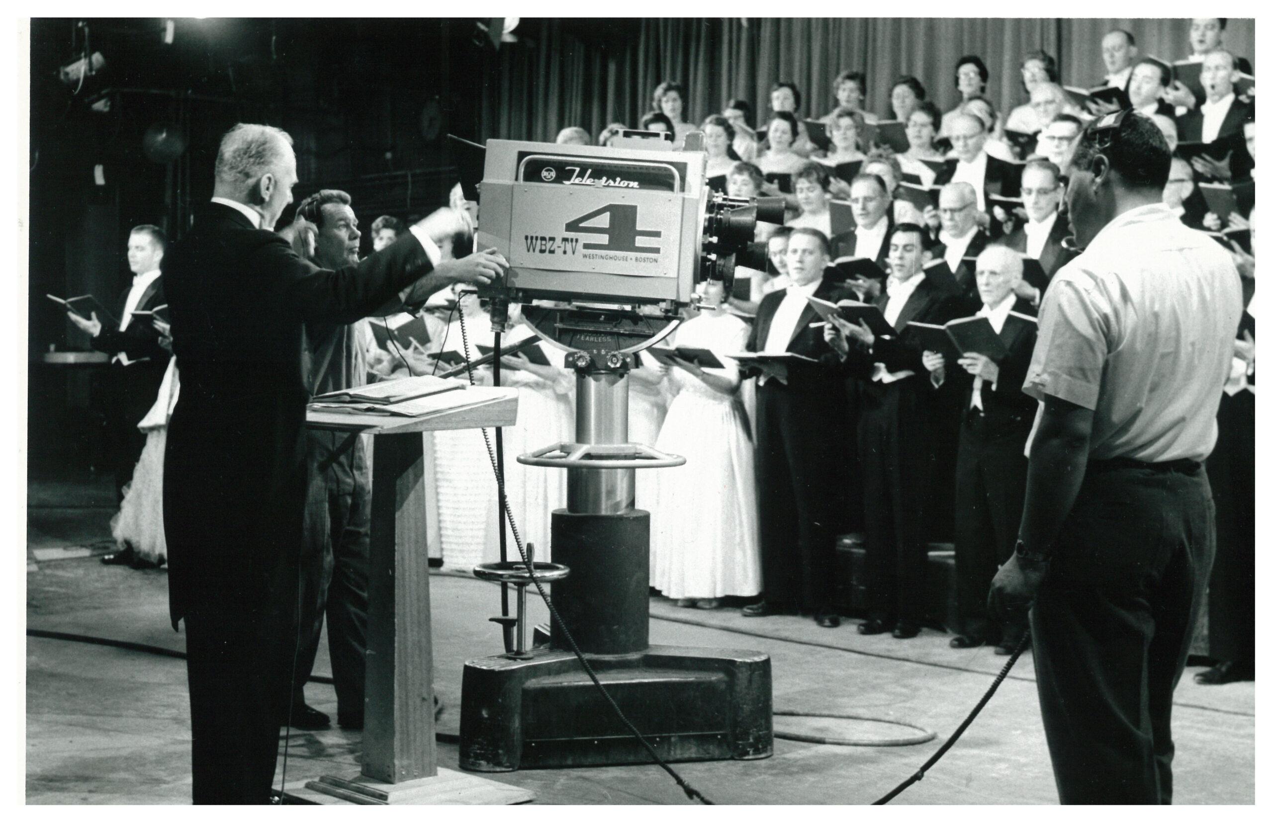 H+H singing Messiah on TV in 1961