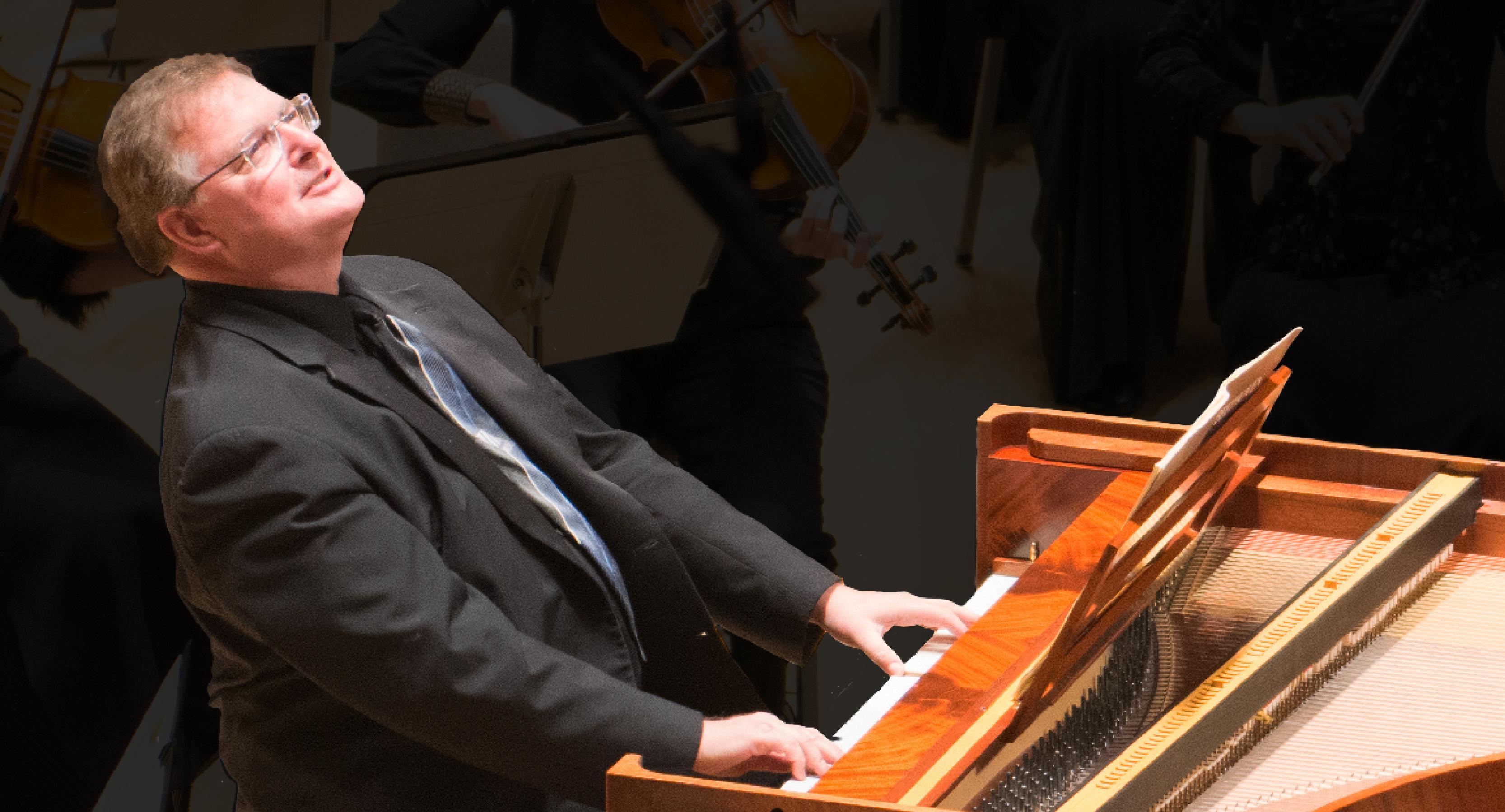 Harpsichordist Ian Watson