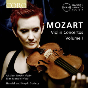 Aisslinn Nosky on the Mozart Violin Concertos CD