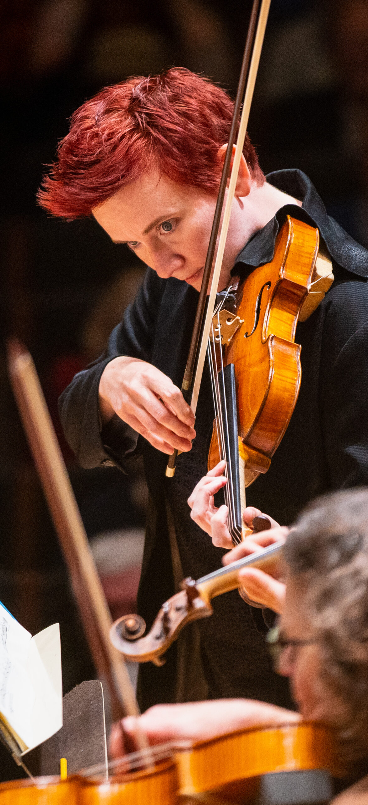 Concertmaster Aisslinn Nosky