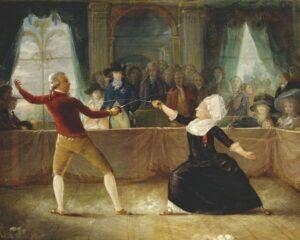 Joseph Bologne, Chevalier de Saint-Georges fencing